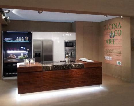 Moderno Cucina Ecologica