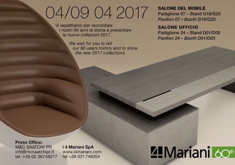 SALONE DEL MOBILE E SALONE UFFICIO 2017