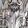 Ballabio Italia finitura argento foglia anticato