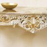 Ballabio Italia finitura laccato cracquelé e oro foglia