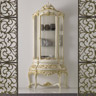 Ballabio Italia Display Cabinets ART NAPOLEON FT CABINET high-gloss Napoleon-style gold leaf finish