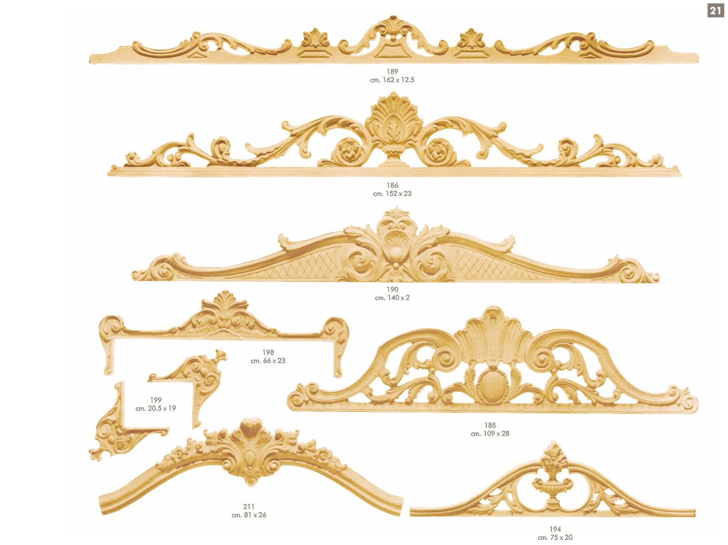 Prodotti fregi ballabio italia s a s for Fregi decorativi