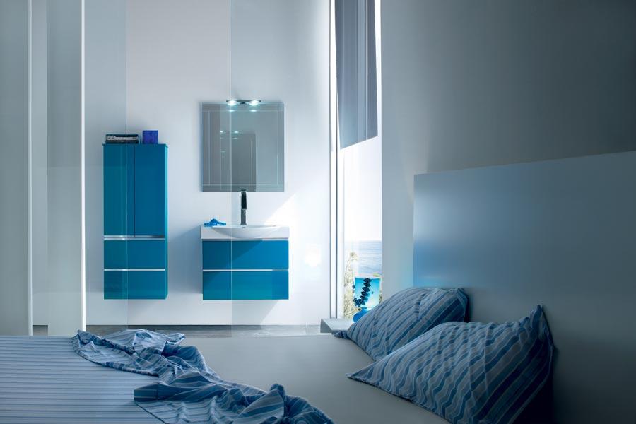 bagni blu mosaico vidori habitas prodotti arredo bagno