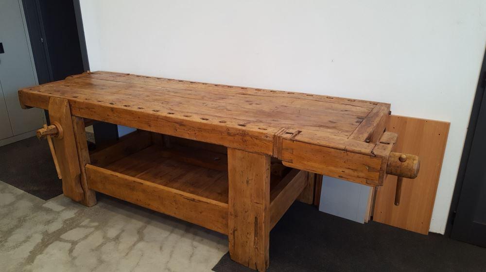Banco da falegname in legno - Banco da lavoro cucina legno ...